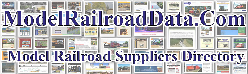 ModelRailroadData.com - Model Railroad Suppliers Directory and Search Engine